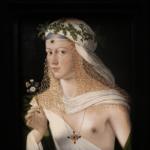 Représentation de la déesse romaine des fleurs.